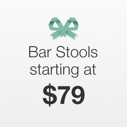 Bar Stools Starting at $79