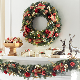 up to 25 off wreaths garland