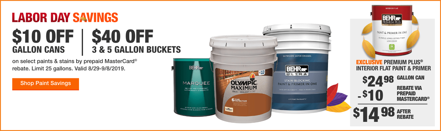 Paint Offers | The Home Depot