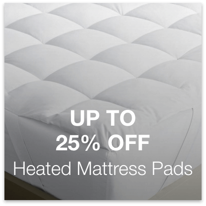 Up to 25% Off Heated Mattress Pads