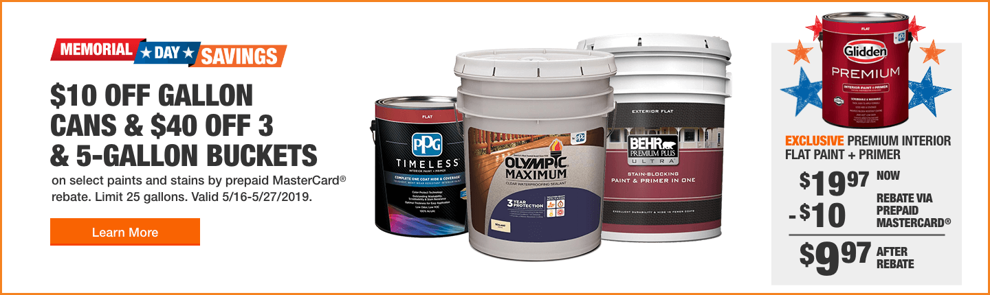 Paint and Paint Supplies for House Painting - The Home Depot on motor homes painted green, mobile homes painted blue, mobile homes painted black, mobile homes white, mobile homes painted red,