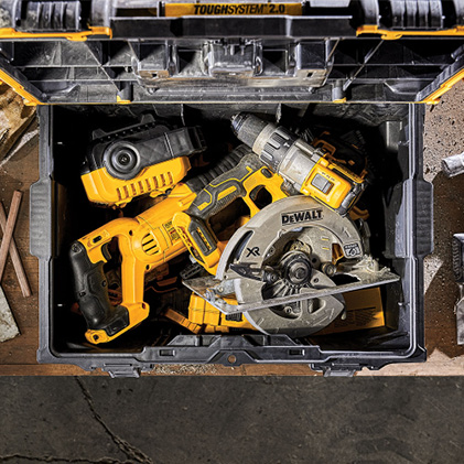 DWST08300 ToughSystem 2.0 Toolbox with 20% Larger Storage Capacity