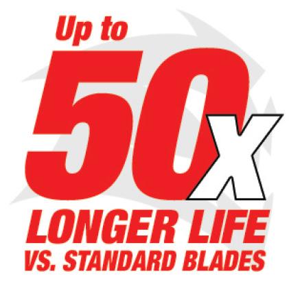 This is a 50x Carbide Logo