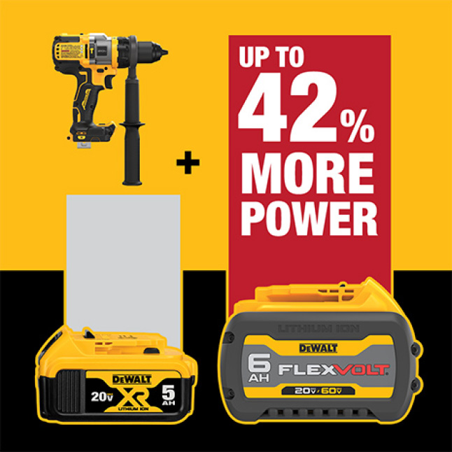 Get up to 42% more Power