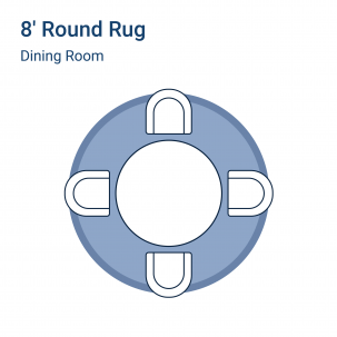 Round dining room rug guide