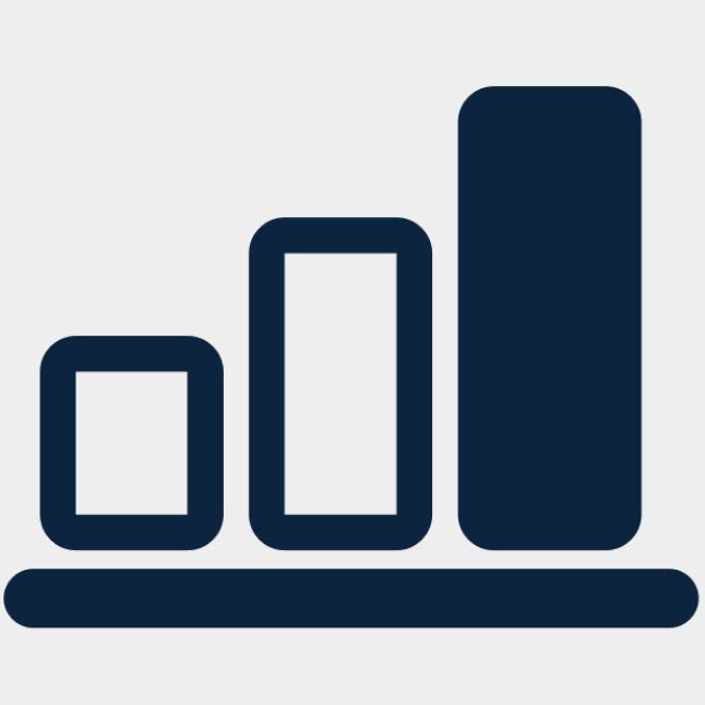 Medium-High rug thickness scale icon