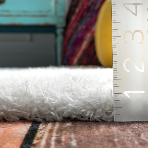 Medium Rug pile height with Measuring ruler