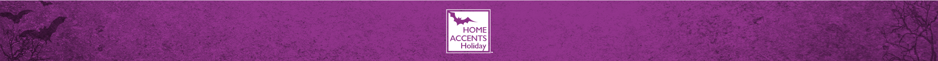 Home Accents halloween themed banner