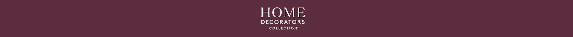 Home Decorator Collection Banner
