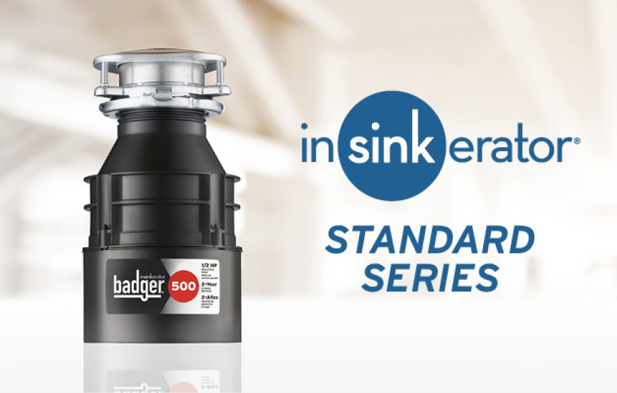 Hero image of Badger 500 garbage disposal