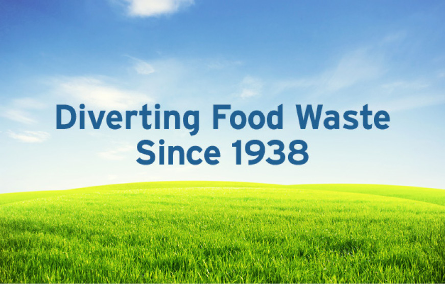 Diverting Food Waste Since 1938