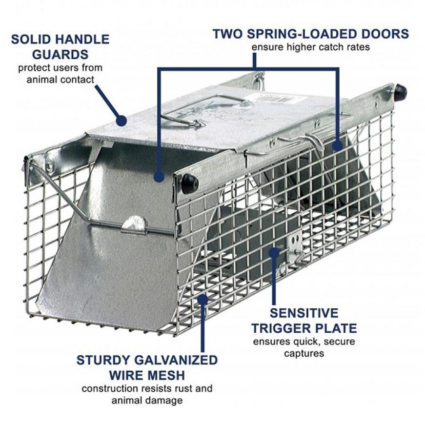 Sturdy 2-Door Traps