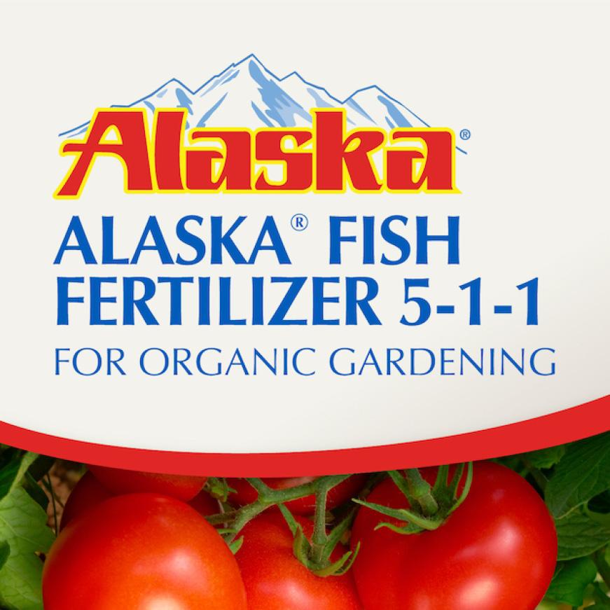 Alaska Fish Fertilizer 5-1-1