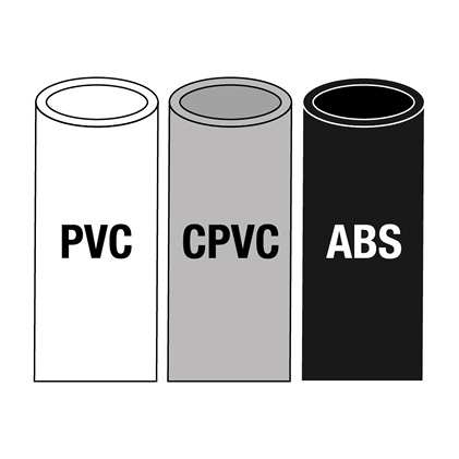 PVC, CPVC & ABS pipe icon