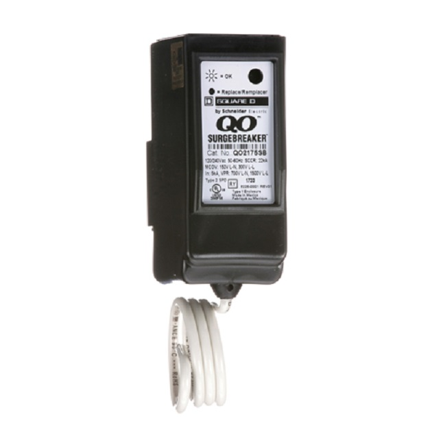 QO2175SB requires 2 spaces in any Square D QO load center.
