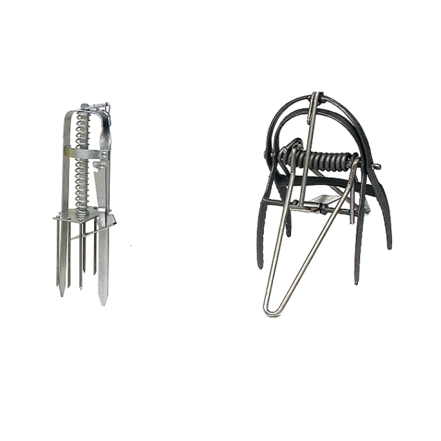 Victor Out O/'Sight Mole Trap 0631 Reusable and weather resistant 2-Pack