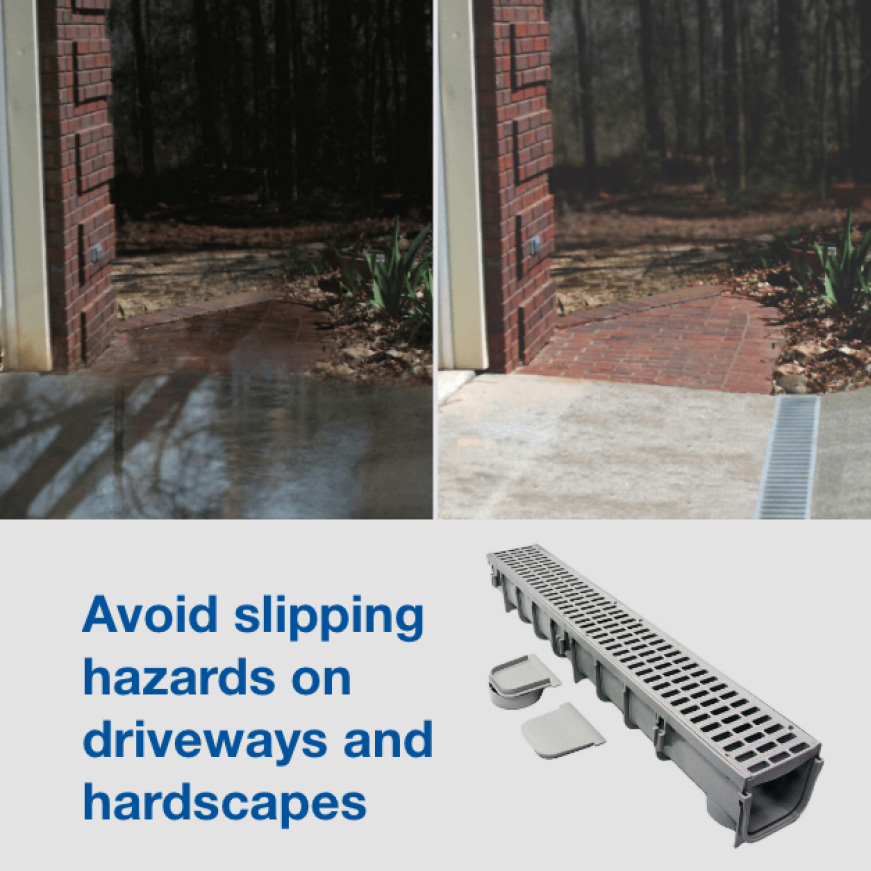 Drainage for Driveways Problem and Solution