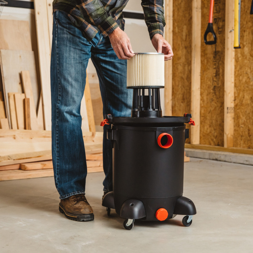 Fits multiple brands of vacuums including Genie and Shop-Vac.