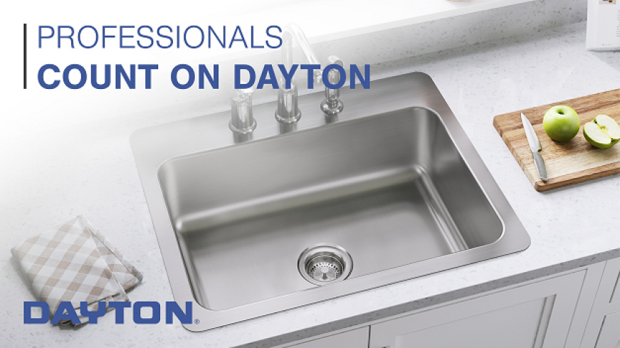 Elkay Dayton Drop In Stainless Steel 33 In 3 Hole Double Bowl Kitchen Sink With 6 5 In Bowl D233193 The Home Depot