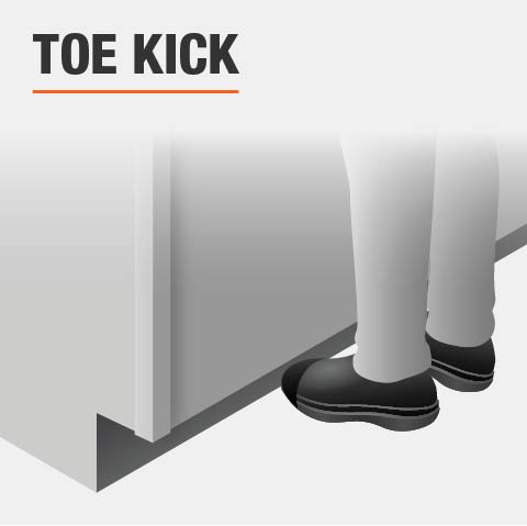 Product feature, Toe kick