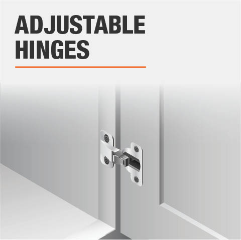 Product feature, Adjustable hinges