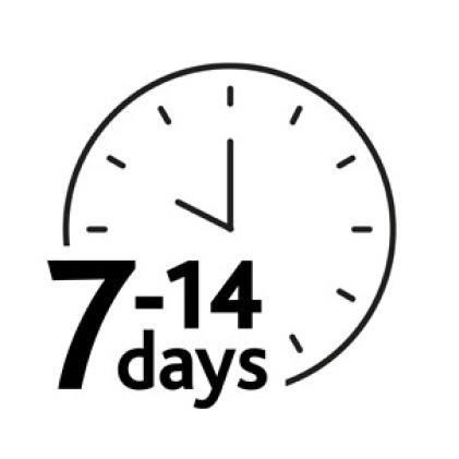 7-14 days icon