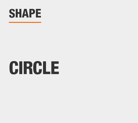 Product Shape: Circle