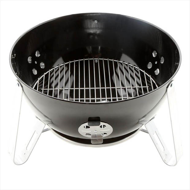 Weber 22 In Smokey Mountain Cooker Smoker In Black With Cover And