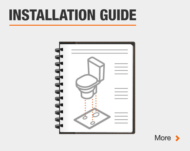 Toilet installation guide
