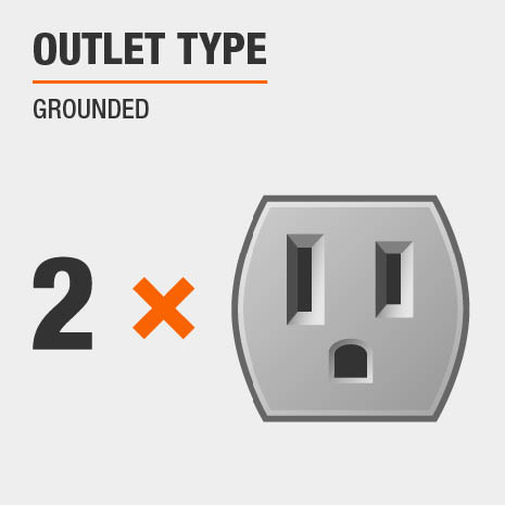 Outlet Type Grounded