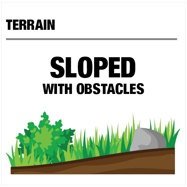 Terrain - Sloped with Obstacles