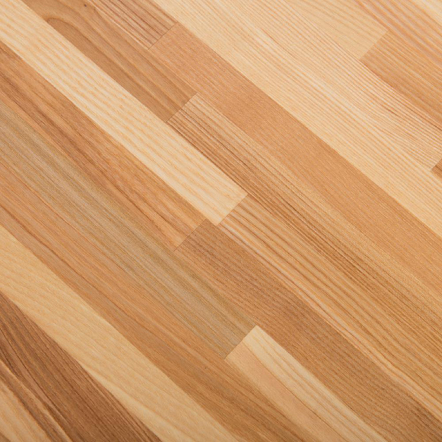 The original durability of your 100% Solid Ash Butcher Block can easily be sanded down and refinished at any time