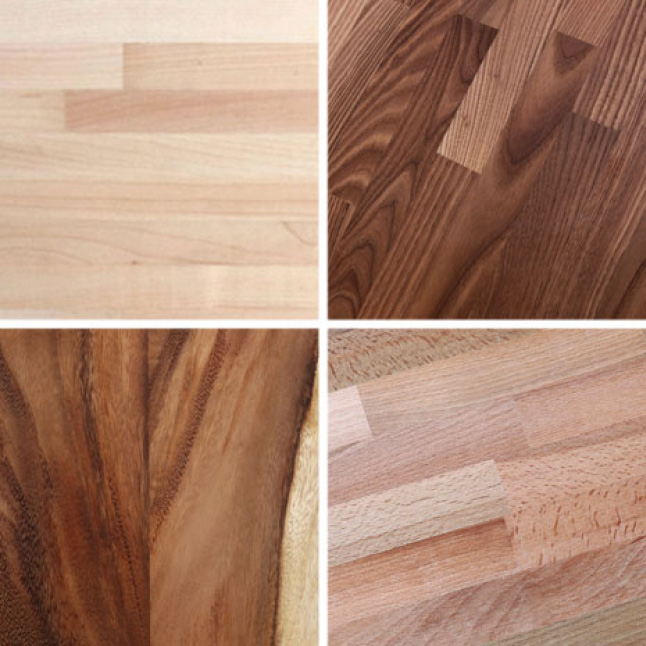 Hardwood Reflections Butcher Blocks come in many different species ranging in 4 ft. to 10 ft. lengths