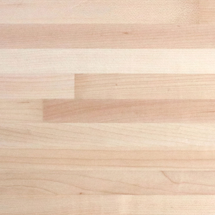 The original durability of your 100% Solid Maple Butcher Block can easily be sanded down and refinished at any time