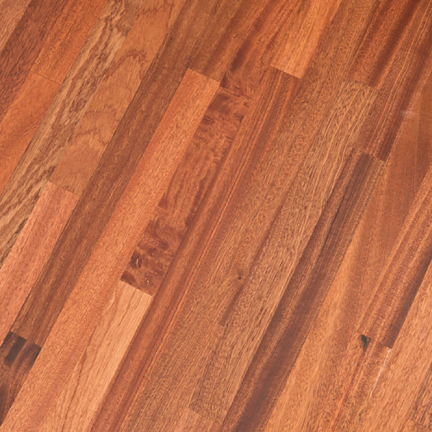 The original durability of your 100% Solid Sapele Butcher Block can easily be sanded down and refinished at any time