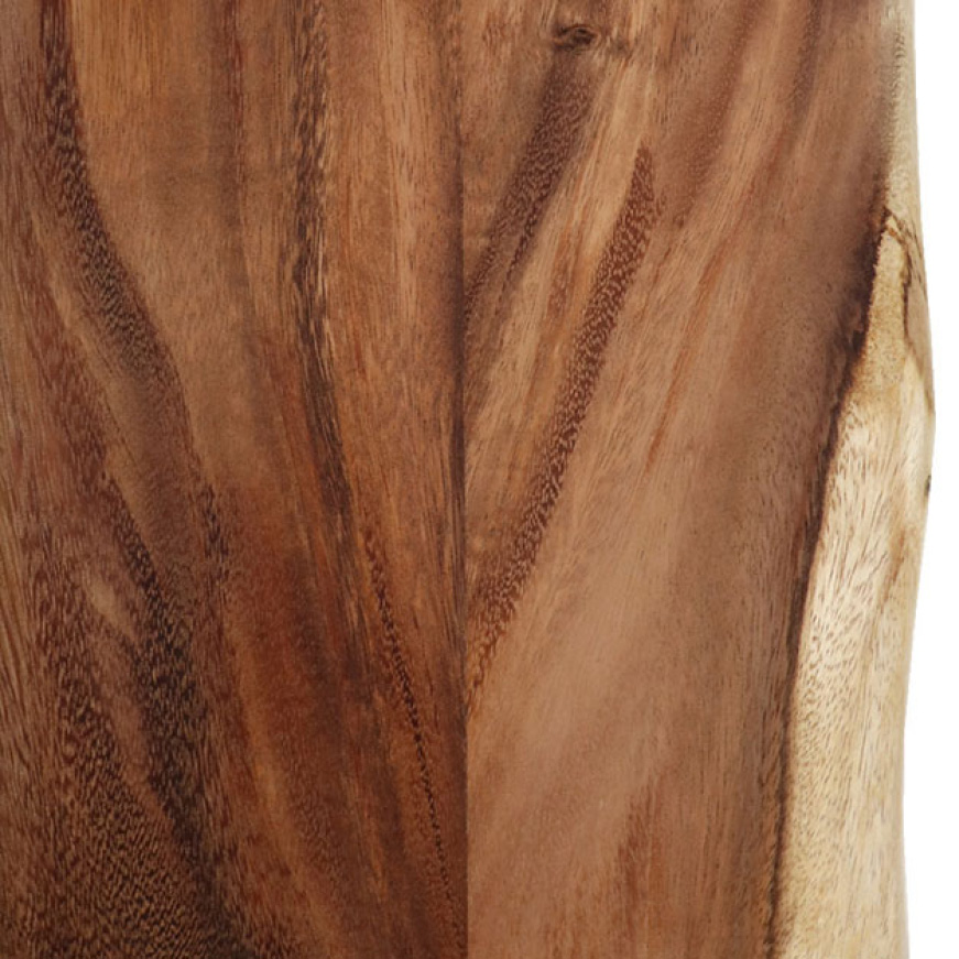 The original durability of your 100% Solid Acacia with Live Edge Butcher Block can easily be sanded down and refinished at any time