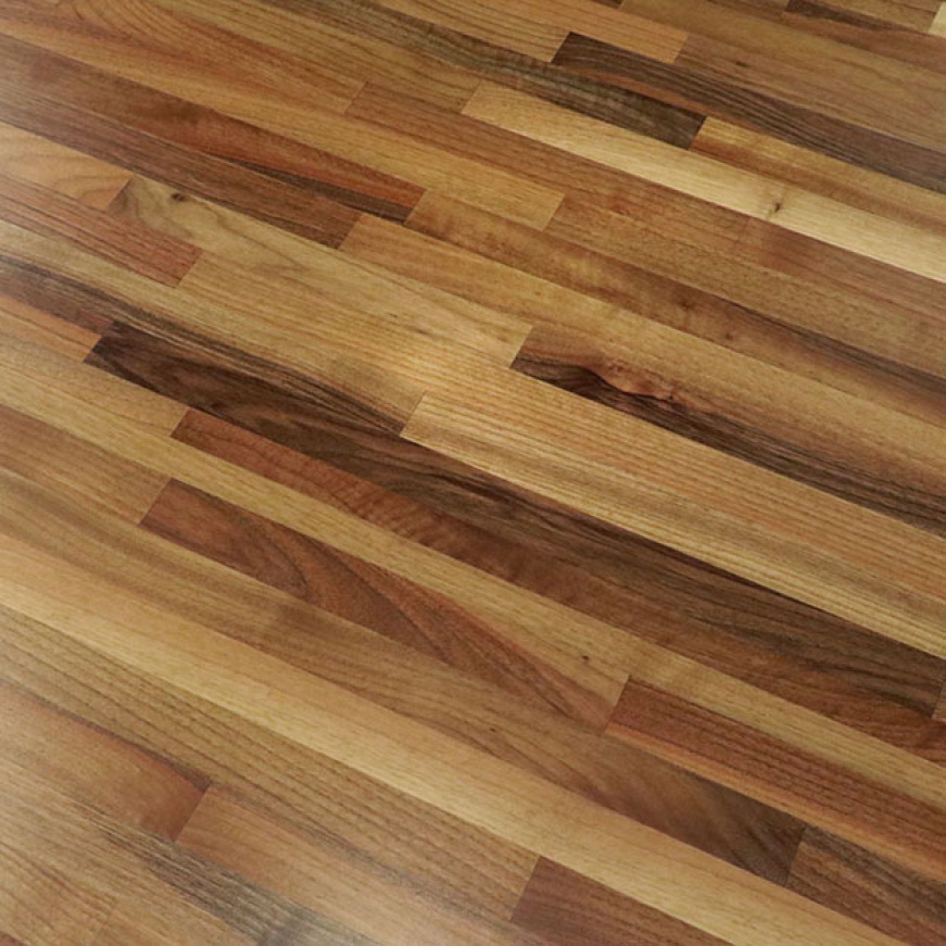 The original durability of your 100% Solid European Walnut Butcher Block can easily be sanded down and refinished at any time