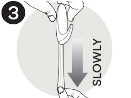 Key tip: stretch straight down, slowly.
