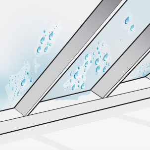 Moisture in the attic can become trapped and condense on rafters and insulation if not insulated properly. This can potentially increase energy costs