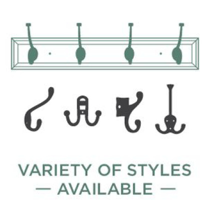 Variety of Hook Styles Available