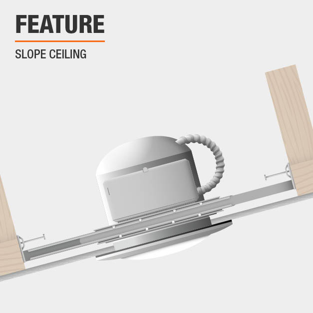 Product feature, Slope Ceiling