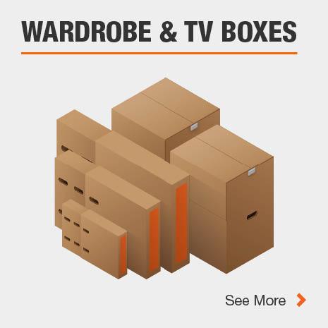 TV and Wardrobe Boxes