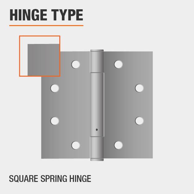 Square Spring Hinge Type