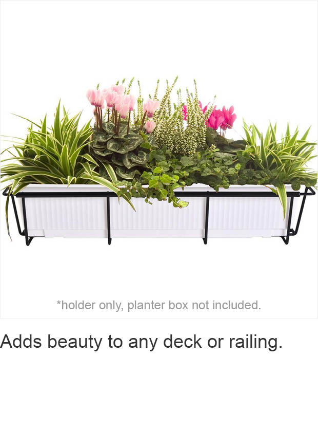 Patent Pending Technology Allows Cobraco Flower Box Holders To Expand And Easily Conform Various Sizes The Ability Size Of