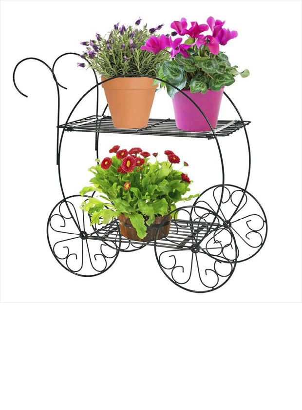 fetching home depot garden hose reel.  cart finished in a deep hunter green to nicely display your potted plants flowers The CobraCo 2 tiered Garden Cart is perfectly Tier FC100 Home Depot Fetching Carts Design Plan