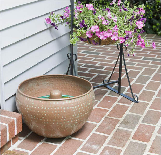fetching home depot garden hose reel.  it This beautiful holder can help win those fights The CobraCo Round Hammered Holder holds a 150 ft Hose HHRIRN S Home Depot Fetching Garden Reel Design Plan