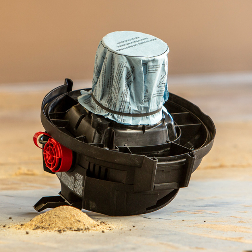 Using Multi-Fit filters helps protect the motor from harmful dust and debris, extending the vacuum's life.