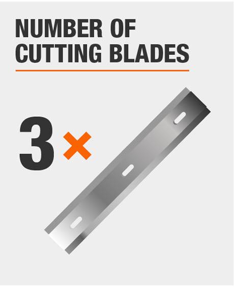Tool Has 3 Cutting Blades