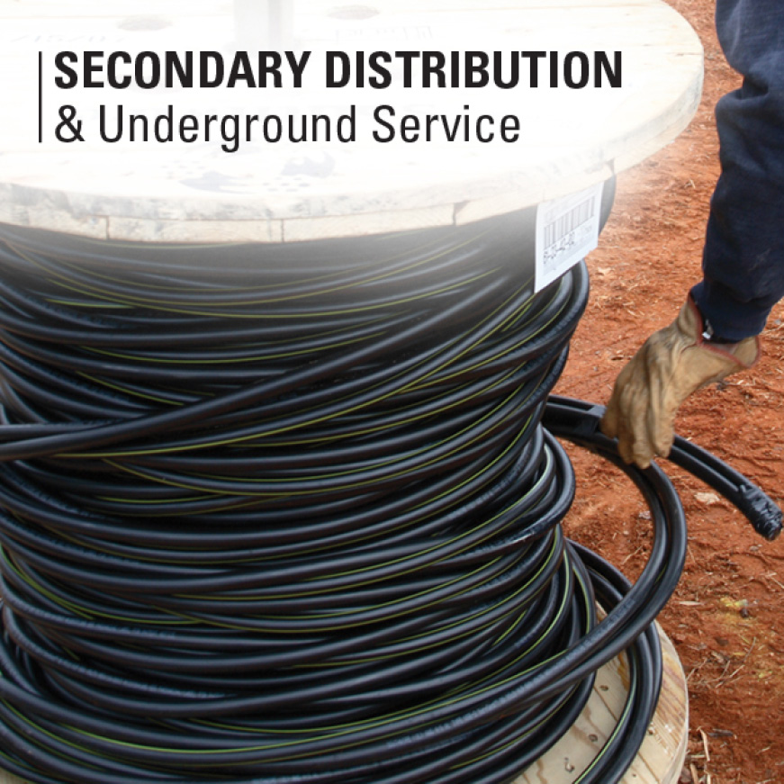 2-2-4 Stranded Aluminum Stephens Underground Residential Distribution Cable and Wire Operation Information