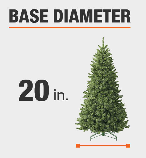 Small, compact tree is perfect for small spaces (indoors only) ... - Home Accents Holiday 3 Ft. Unlit Tacoma Pine Artificial Christmas